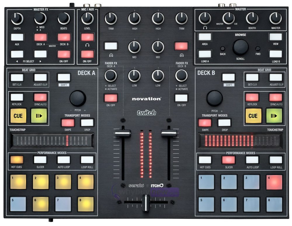 Twitch Modular Synthesizer : novation twitch usb dj controller interface whybuynew ~ Vivirlamusica.com Haus und Dekorationen