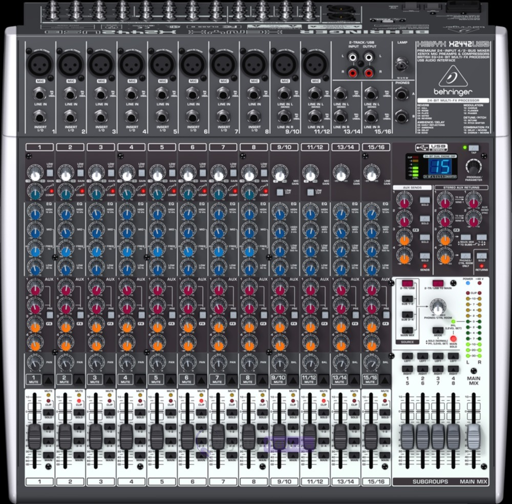 BEHRINGER XENYX X2442USB WINDOWS 7 X64 TREIBER