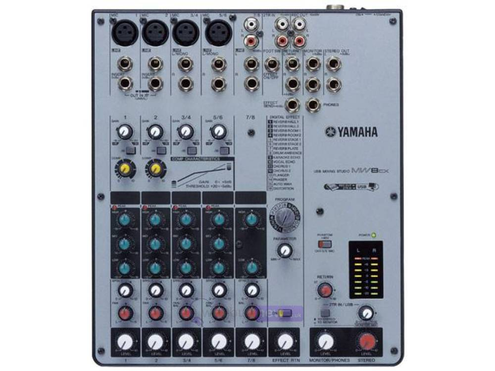 Yamaha Usb Mixing Studio Mw