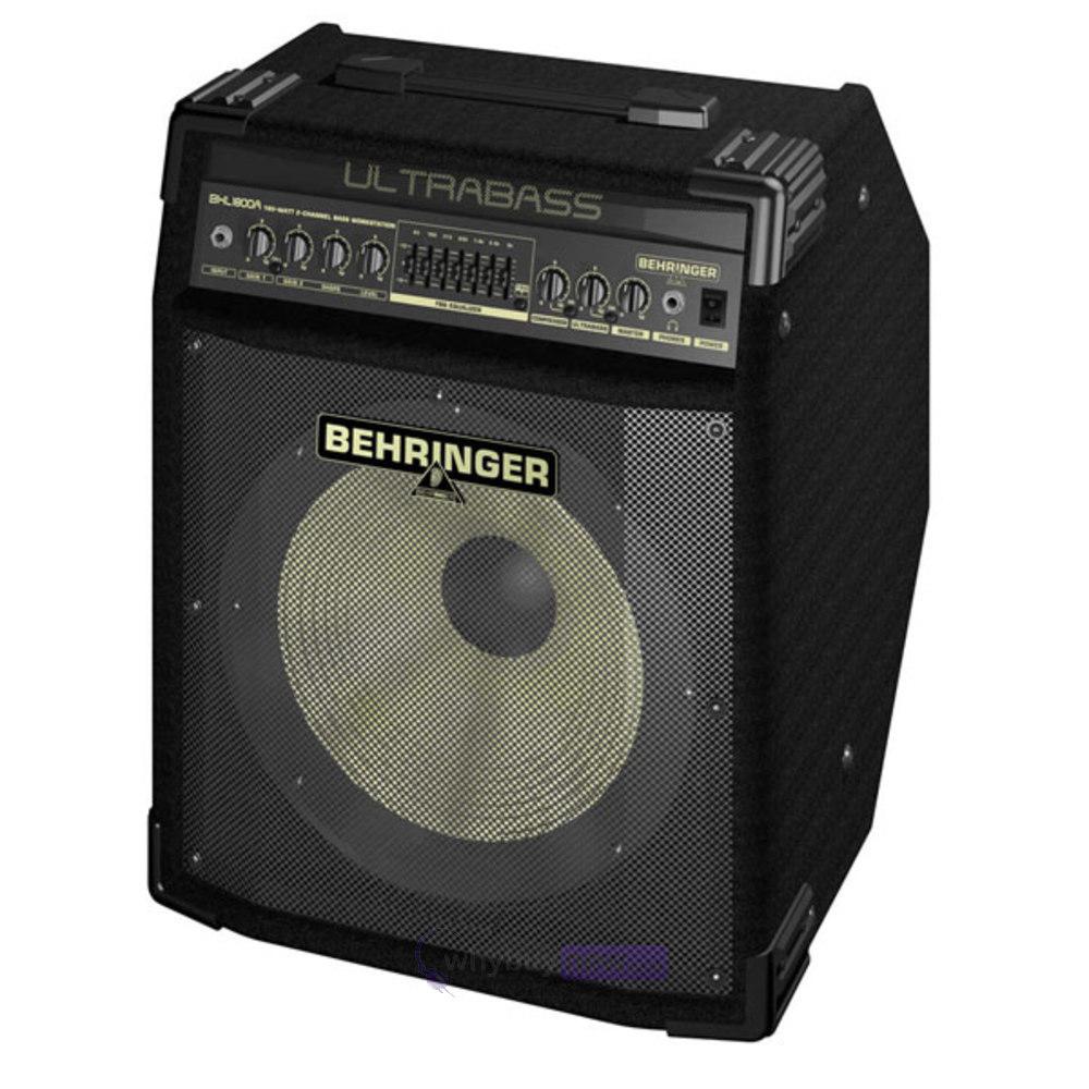 behringer ultrabass bxl1800a 180w bass guitar combo amp whybuynew. Black Bedroom Furniture Sets. Home Design Ideas