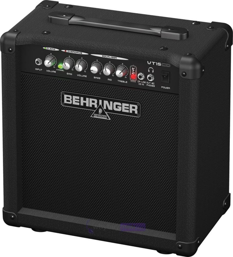 behringer virtube vt15cd guitar amplifier whybuynew. Black Bedroom Furniture Sets. Home Design Ideas