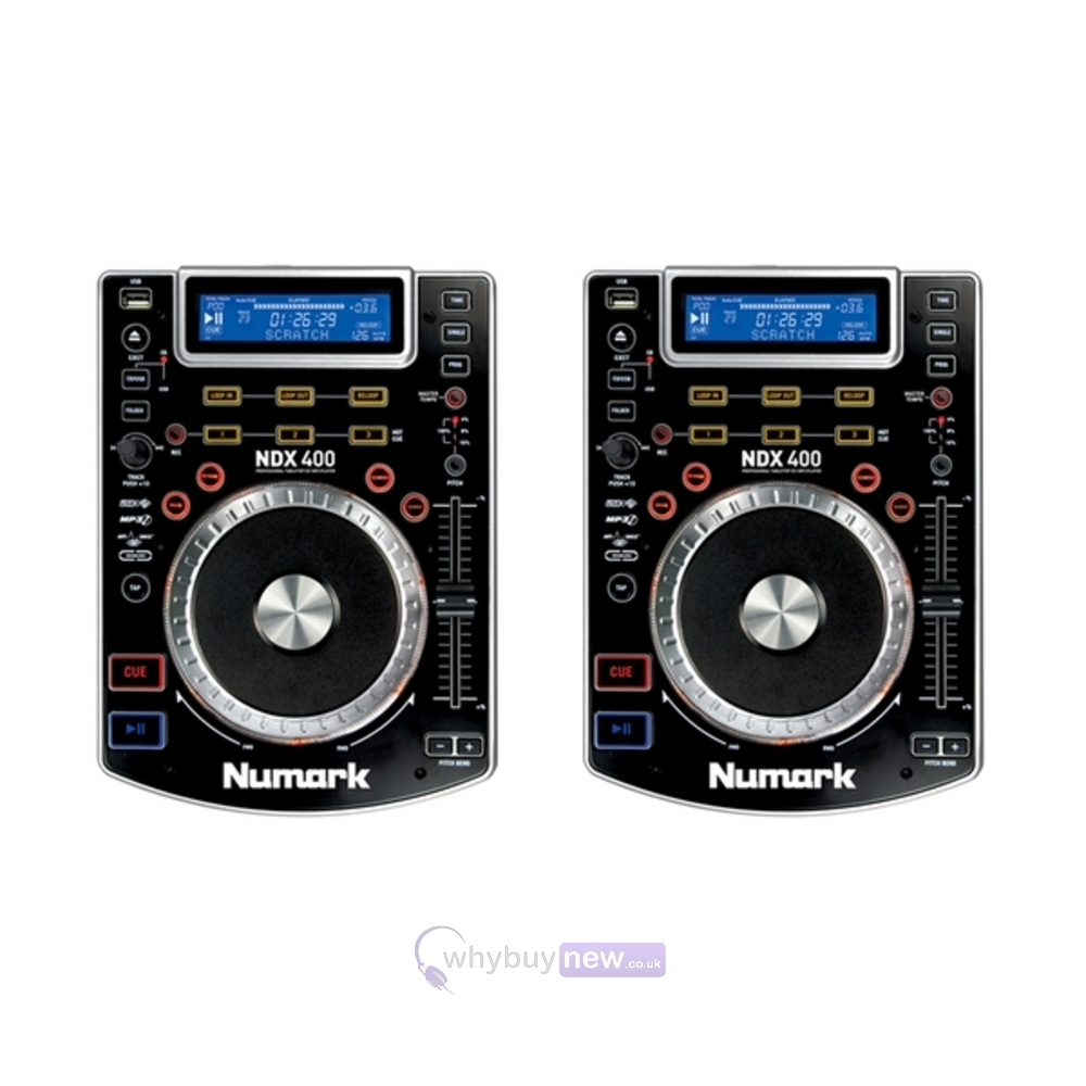 numark ndx400 dj cd usb player whybuynew. Black Bedroom Furniture Sets. Home Design Ideas