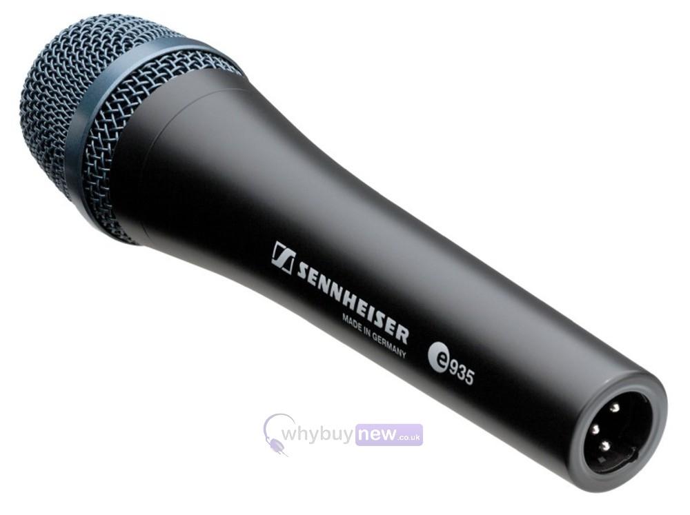 sennheiser e935 dynamic vocal microphone. Black Bedroom Furniture Sets. Home Design Ideas