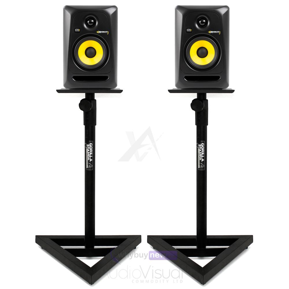 gorilla gsm 100 monitor stands. Black Bedroom Furniture Sets. Home Design Ideas