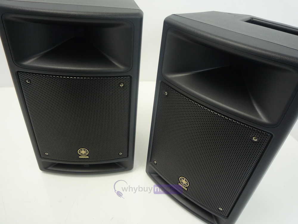 yamaha stagepas 300 portable pa system whybuynew. Black Bedroom Furniture Sets. Home Design Ideas