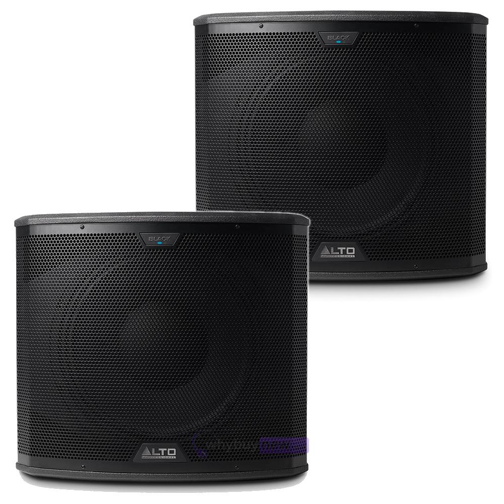 alto black 12 speakers black 15 subs. Black Bedroom Furniture Sets. Home Design Ideas