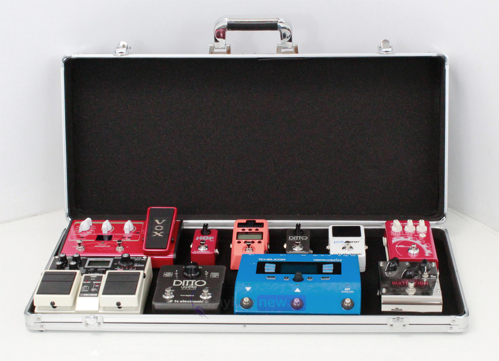 Stagg UPC-688 Guitar FX Pedal Board Case | whybuynew.co.uk