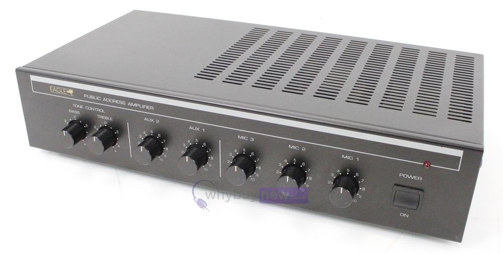 Power Amplifier Khusus Middle : eagle pa4060e public address amplifier whybuynew ~ Vivirlamusica.com Haus und Dekorationen