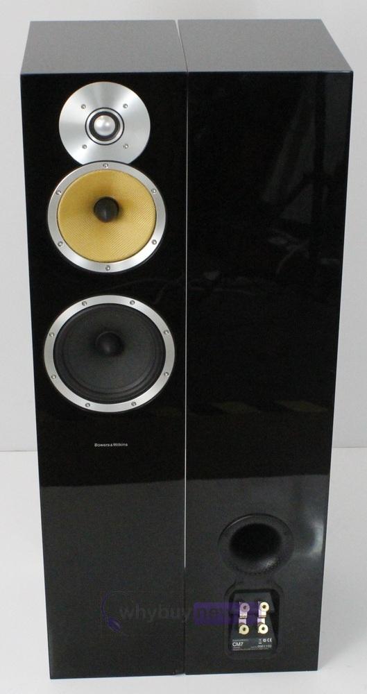 bowers wilkin b w cm7 speakers pair whybuynew. Black Bedroom Furniture Sets. Home Design Ideas