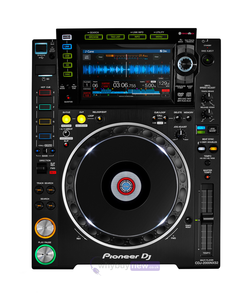 pioneer cdj 2000 nxs2. Black Bedroom Furniture Sets. Home Design Ideas
