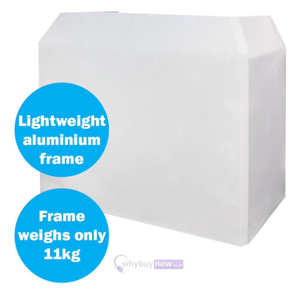 Equinox Aluminium Lightweight DJ Booth System   WhyBuyNew