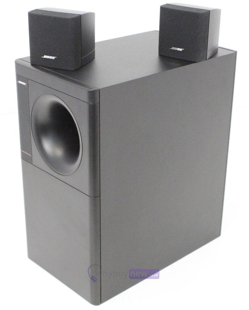 bose acoustimass 3 series iv speaker system whybuynew. Black Bedroom Furniture Sets. Home Design Ideas
