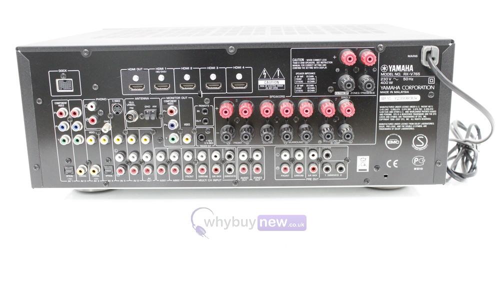 Yamaha RX-V765 AV Receiver