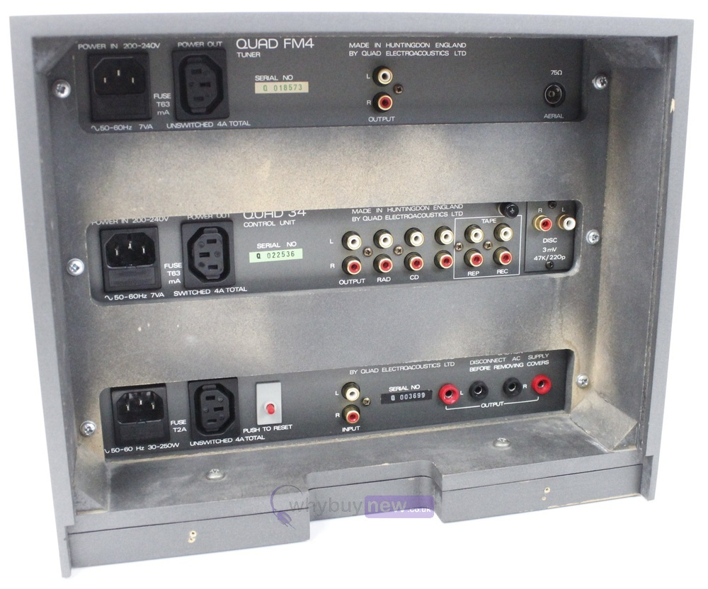 Quad HiFi System with Quad Rack (306-FM4-34-Rack)