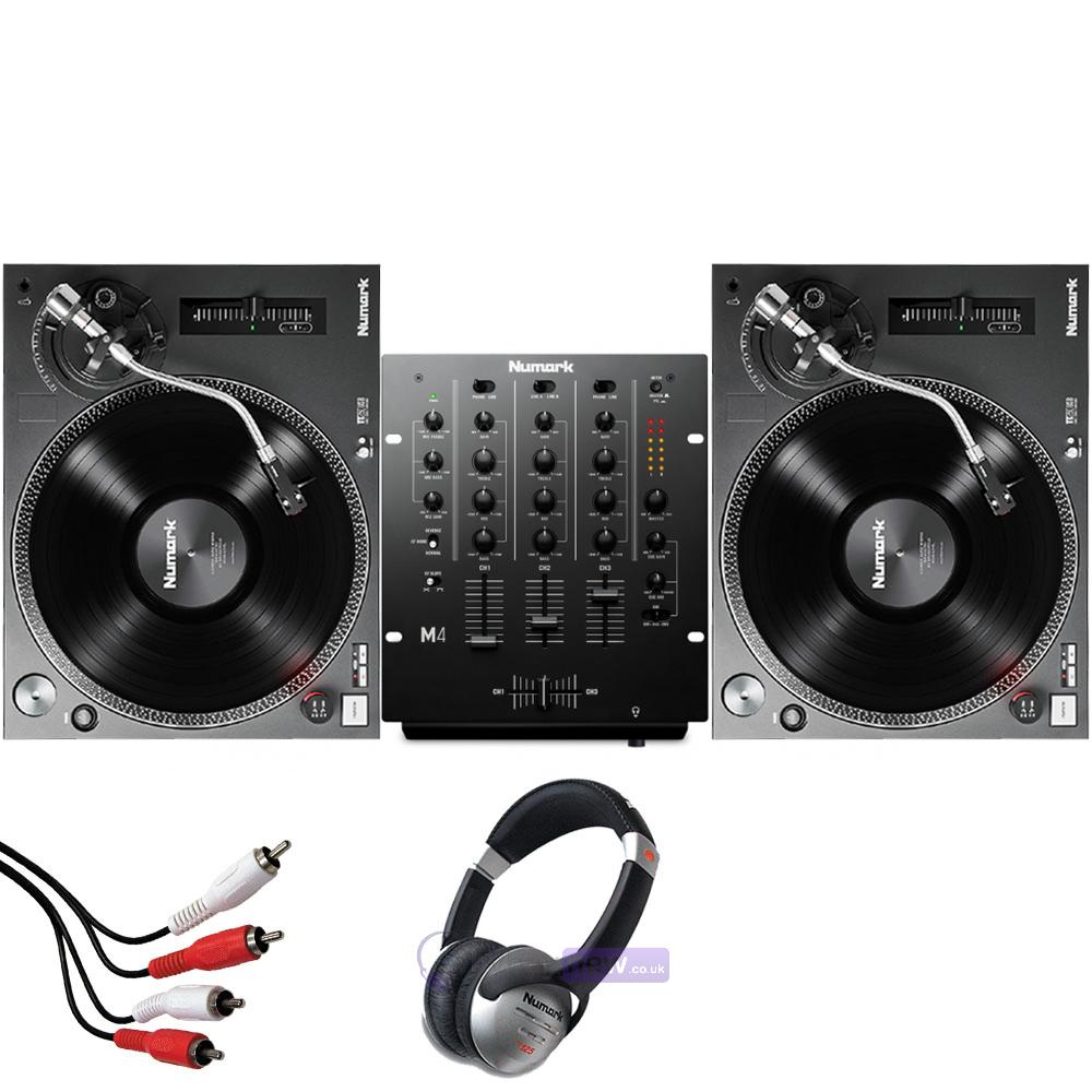 numark tt250 usb turntables numark m4 black mixer package. Black Bedroom Furniture Sets. Home Design Ideas