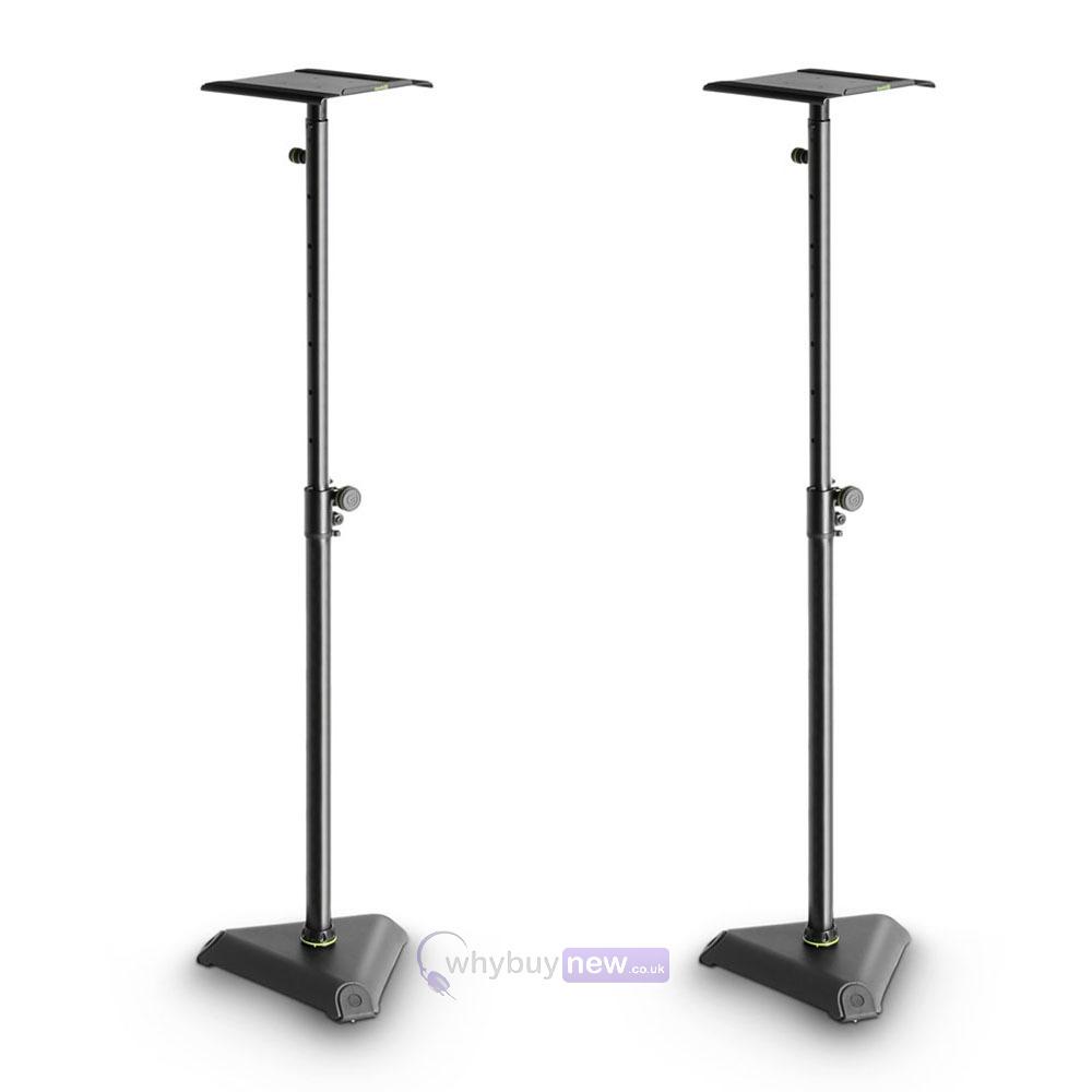 gravity sp 3202 vt studio monitor speaker stand. Black Bedroom Furniture Sets. Home Design Ideas