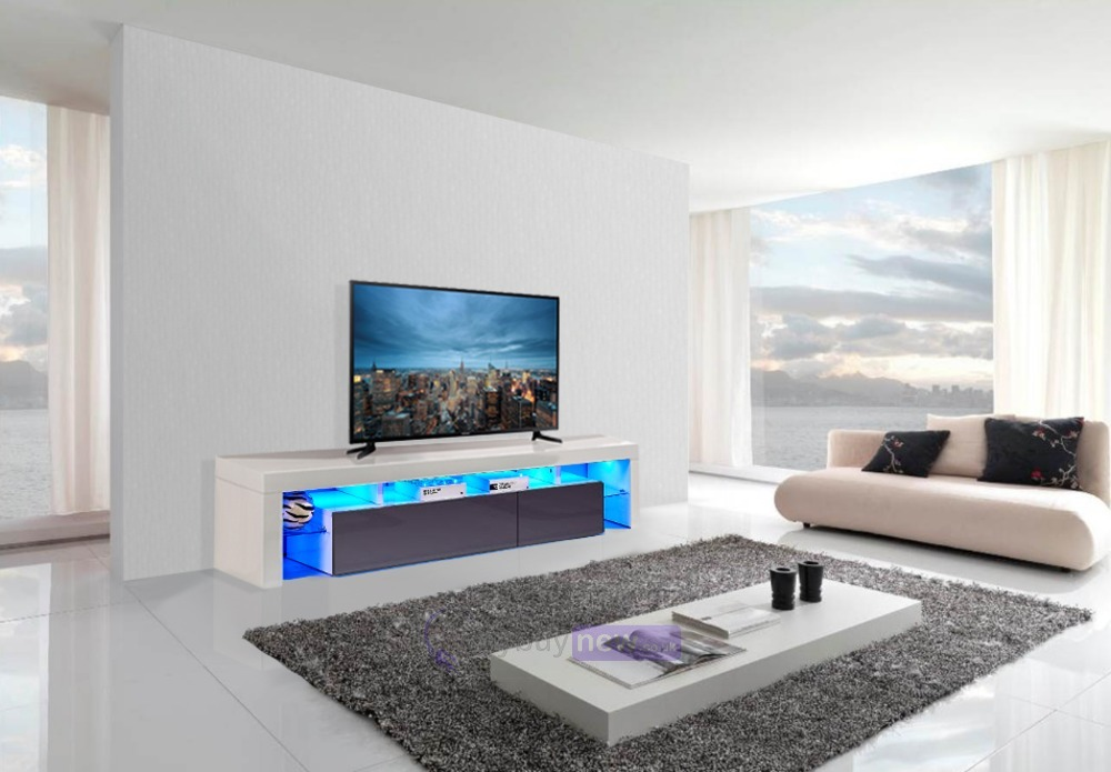 d3ed5369a89f AVC TVS-8 TV Entertainment Cabinet WG | WhyBuyNew