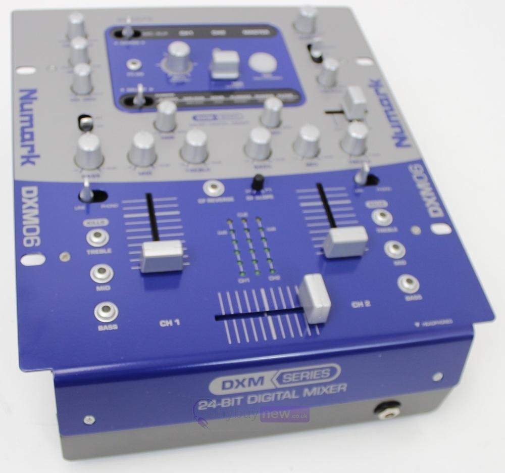 Numark DXM06 24 Bit Digital Mixer with Effects