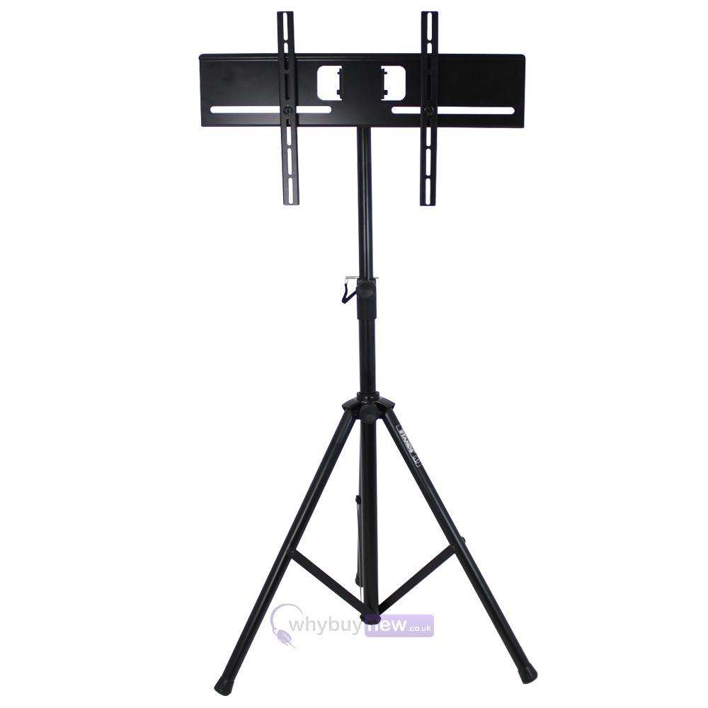 Portable Exhibition Desks : Gorilla gtv portable tripod tv floor stand for quot to