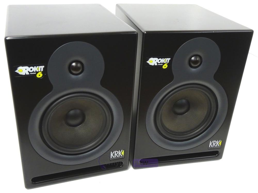 ROKiT: KRK Rokit RP6 G1 Powered Monitor Speakers (Pair)