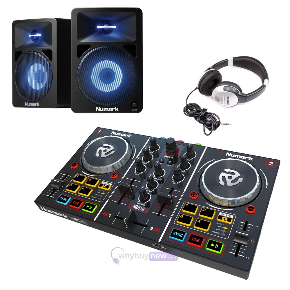 Numark Party Mix With N-Wave 580L & HF125