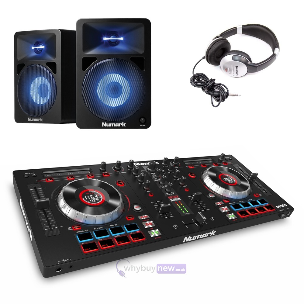 Numark Mixtrack Platinum with N-Wave 580L & HF125