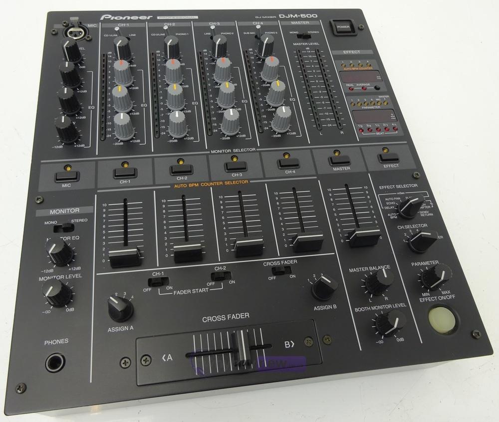pioneer djm 500 club mixer pioneer djm 500 mixer. Black Bedroom Furniture Sets. Home Design Ideas