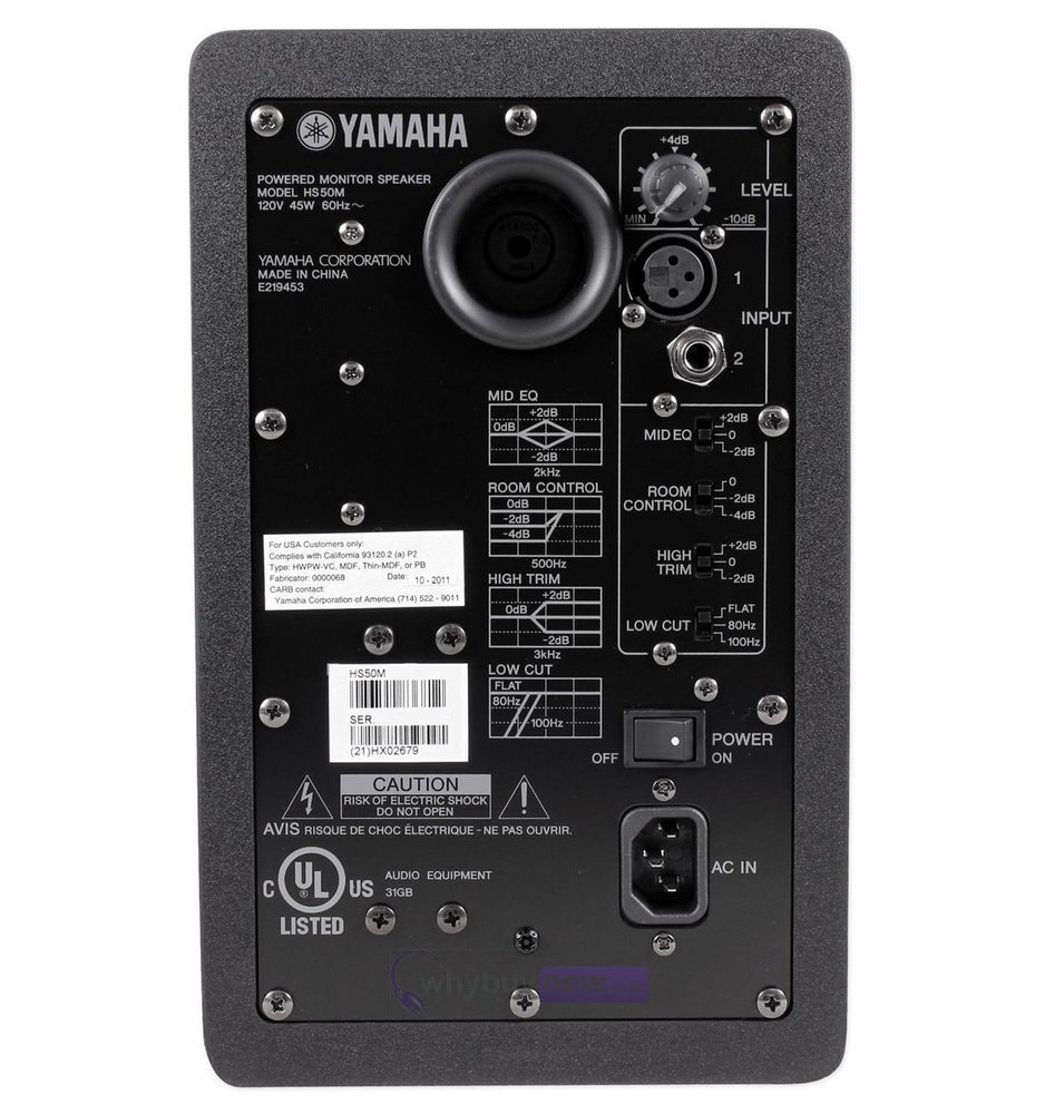 yamaha hs50m review
