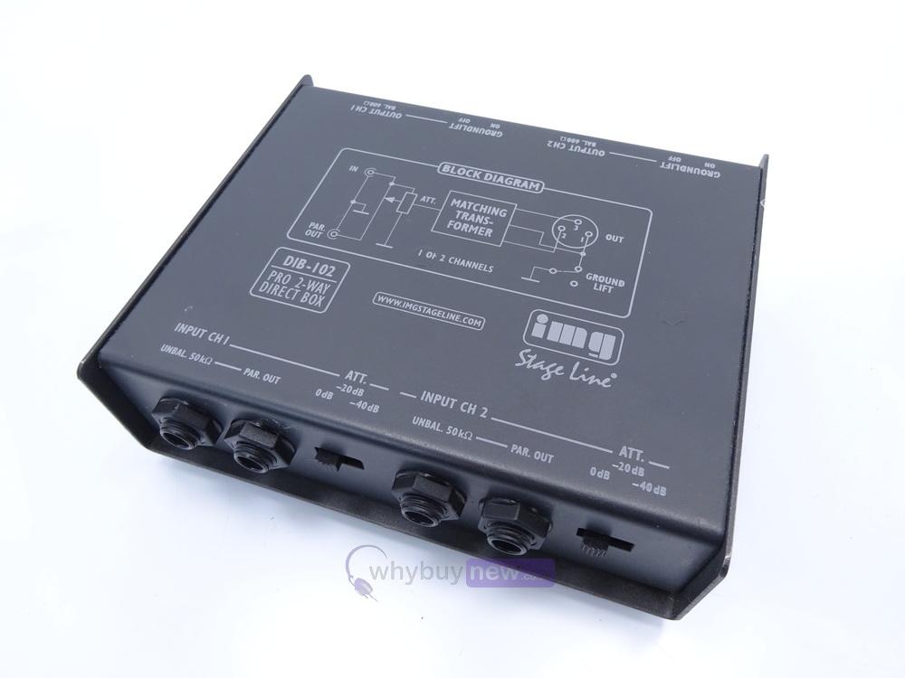 TV, Video & Audio IMG STAGE LINE Direkt-Box DIB-102 Veranstaltungs ...