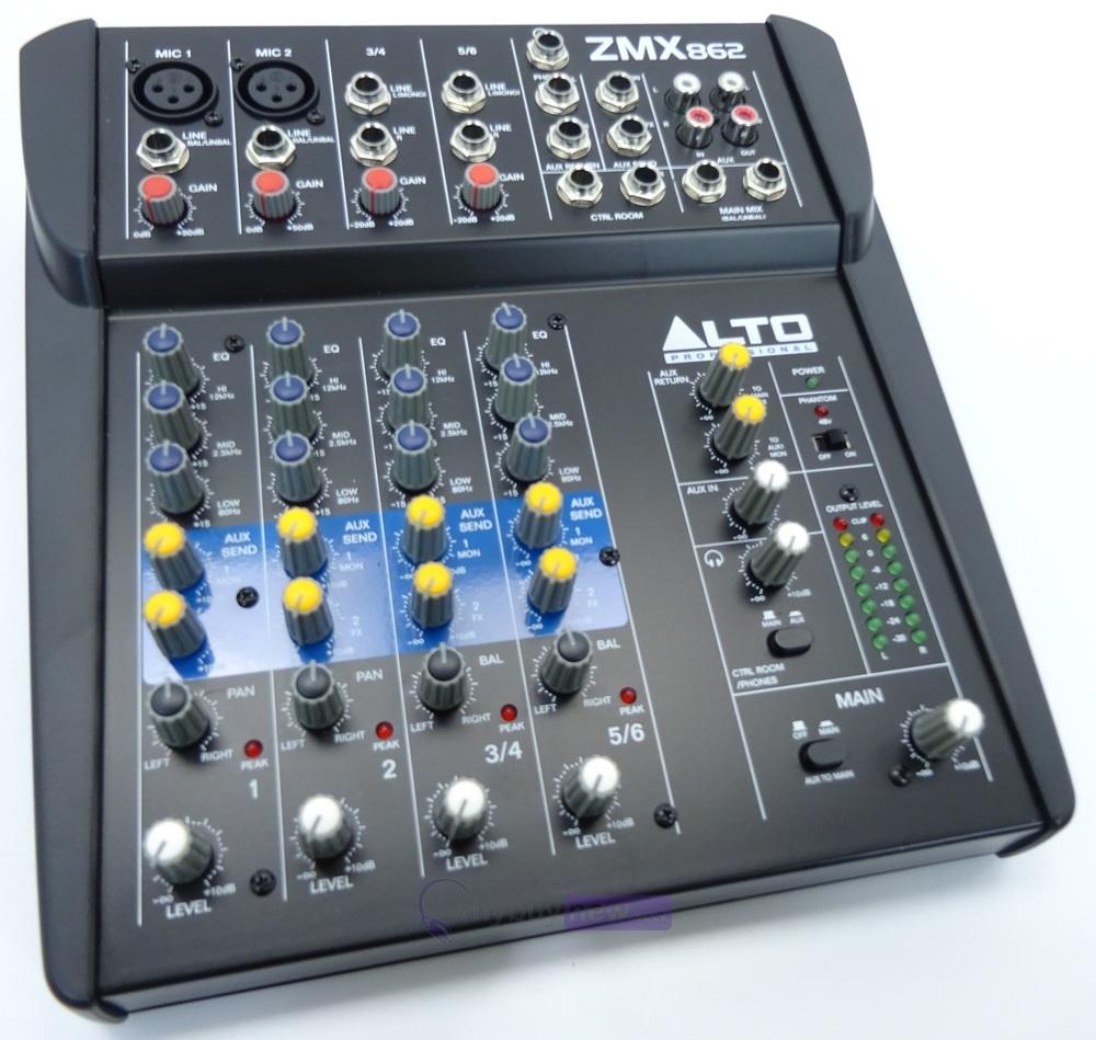 Alto Zmx862 6 Channel Live Mixer Whybuynew Audio