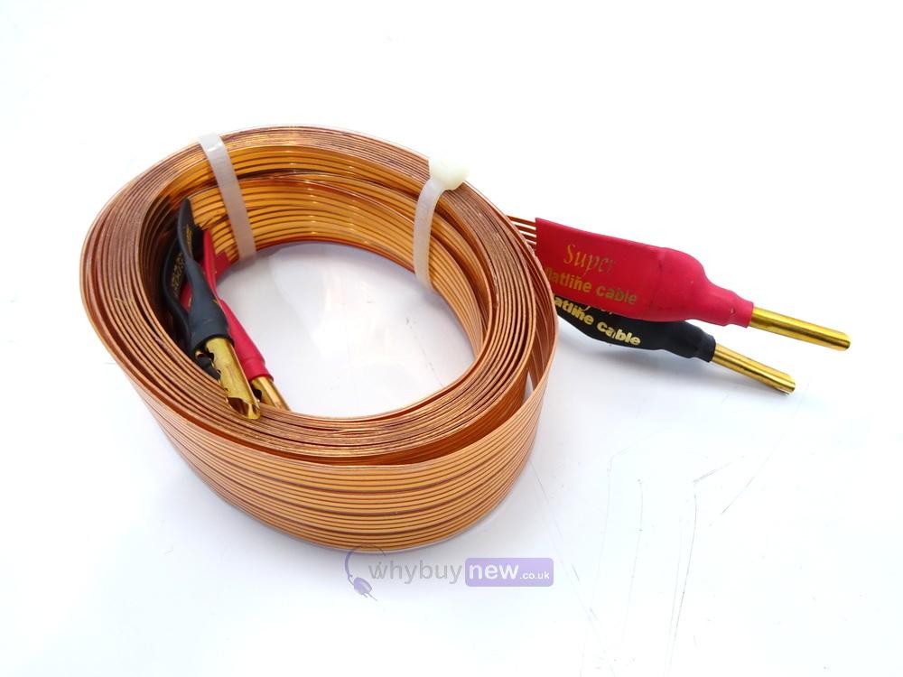 Bi Wire Cables : Nordost super flatline bi wire cable m single whybuynew