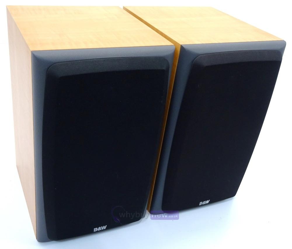 Bowers Wilkins B W Dm303 Passive Bookshelf Speakers Pair