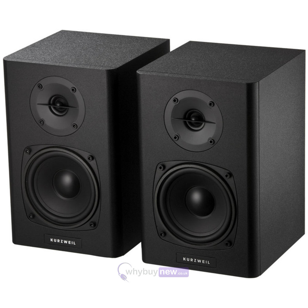 kurzweil ks40a active studio monitors speakers pair whybuynew. Black Bedroom Furniture Sets. Home Design Ideas