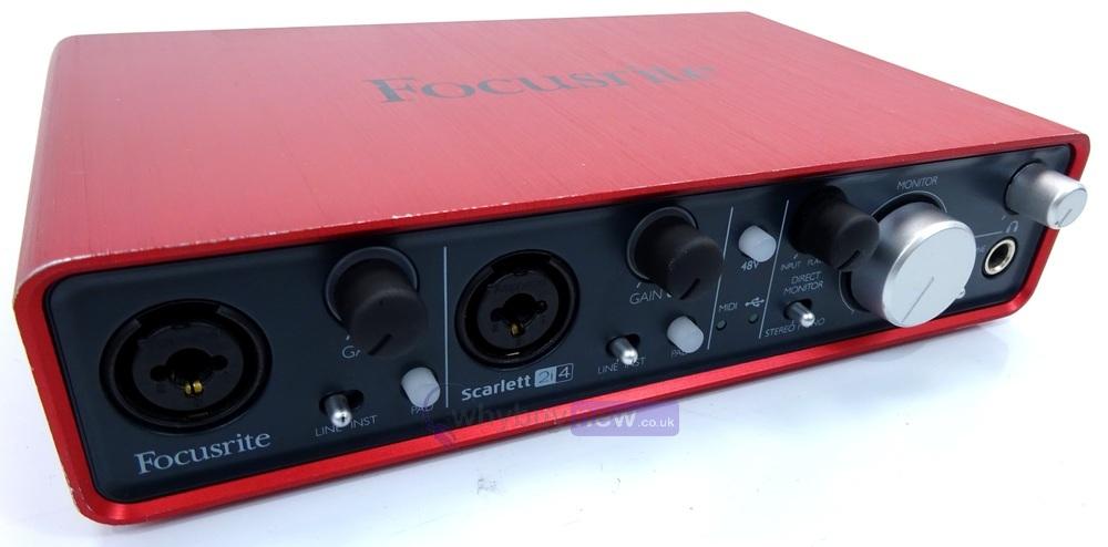 focusrite scarlett 2i4 audio interface whybuynew. Black Bedroom Furniture Sets. Home Design Ideas