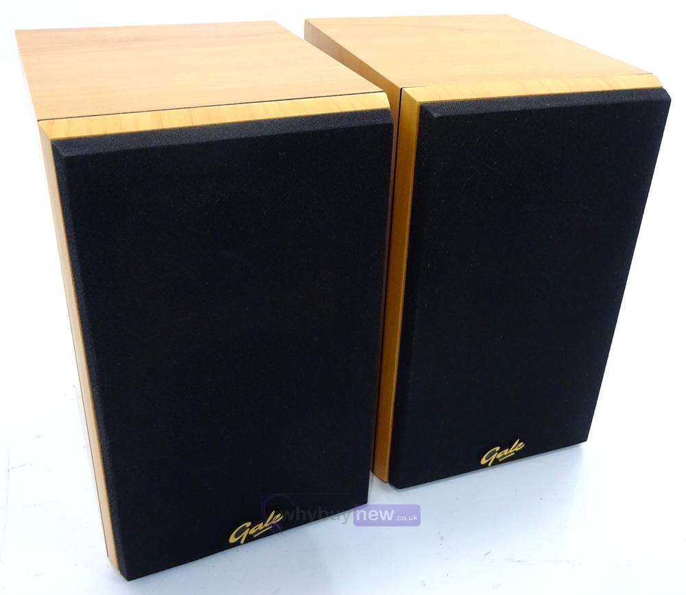 Gale 3010s Small Bookshelf Speakers Whybuynew