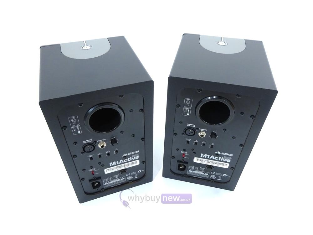 alesis m1 520 active studio monitors pair whybuynew. Black Bedroom Furniture Sets. Home Design Ideas