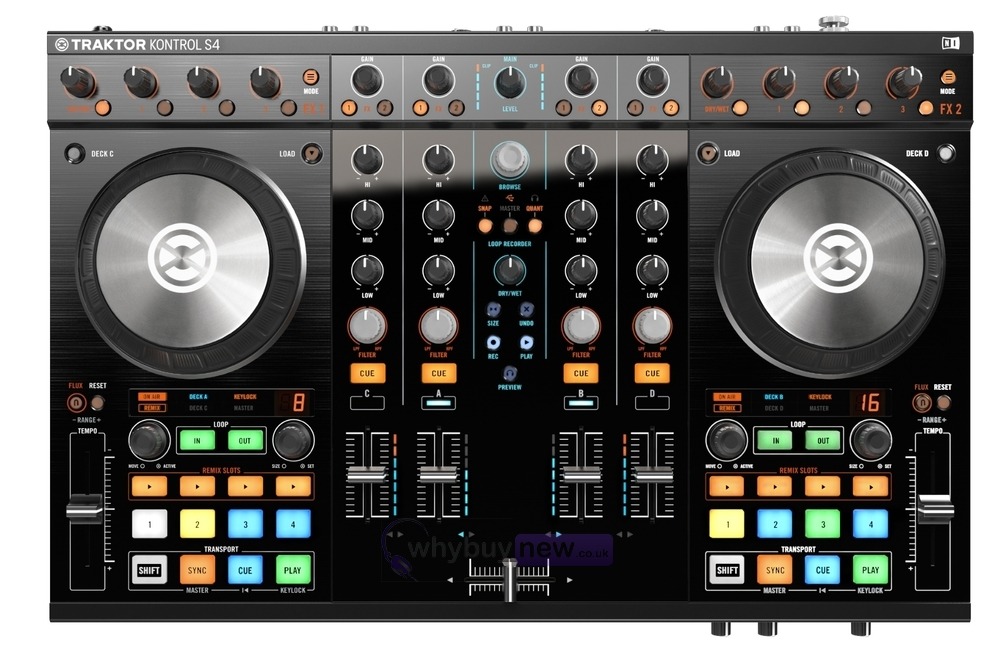 native traktor kontrol s4 mk2 controller whybuynew rh whybuynew co uk native instruments traktor kontrol s4 manual traktor s4 manuel