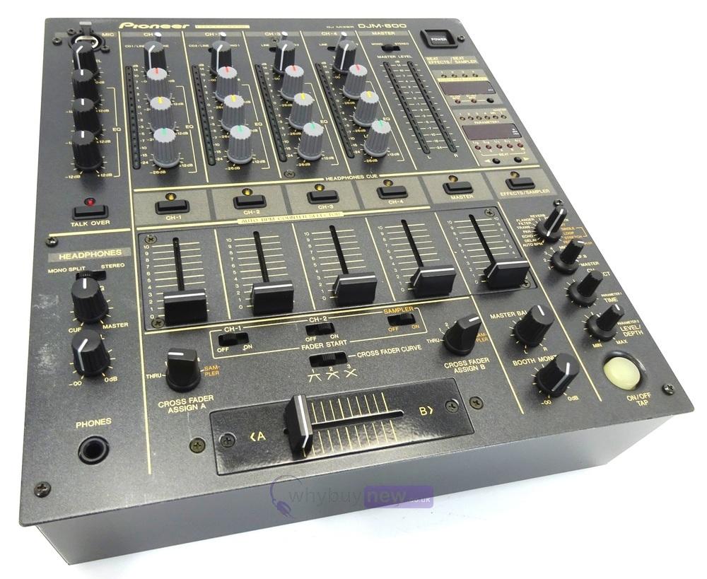 dj equipment dj mixers pioneer djm600 dj mixer whybuynew. Black Bedroom Furniture Sets. Home Design Ideas