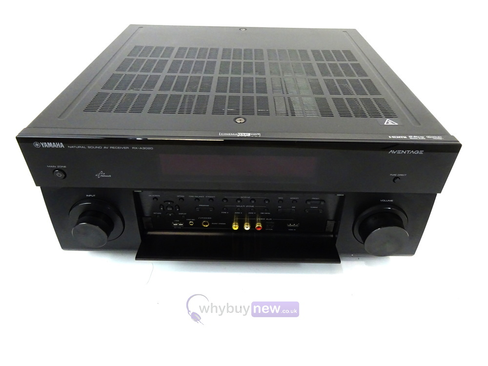 yamaha rx a3020 aventage 9 2 channel home theater receiver. Black Bedroom Furniture Sets. Home Design Ideas