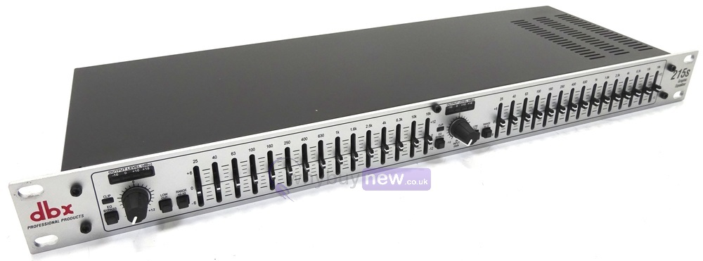 Citronic CEQ215 Dual 15 Band Graphic EQ Rack Unit