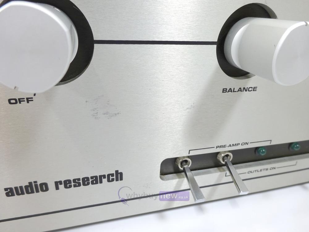 Rare Audio Research SP-8 Hi-Fi Preamplifier