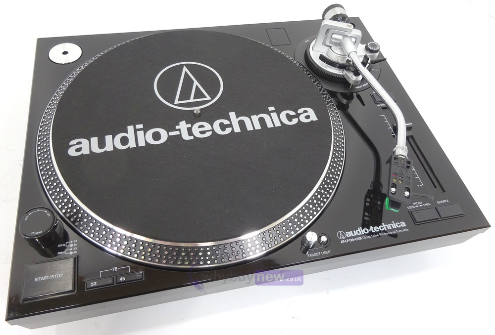 audio technica at lp120 usb turntable whybuynew. Black Bedroom Furniture Sets. Home Design Ideas