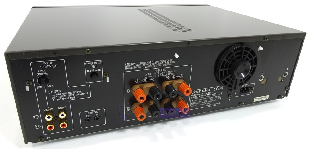 technics se a1000 mk2 power amplifier whybuynew rh whybuynew co uk Technics Stereo Equipment Technics Amplifier Parts