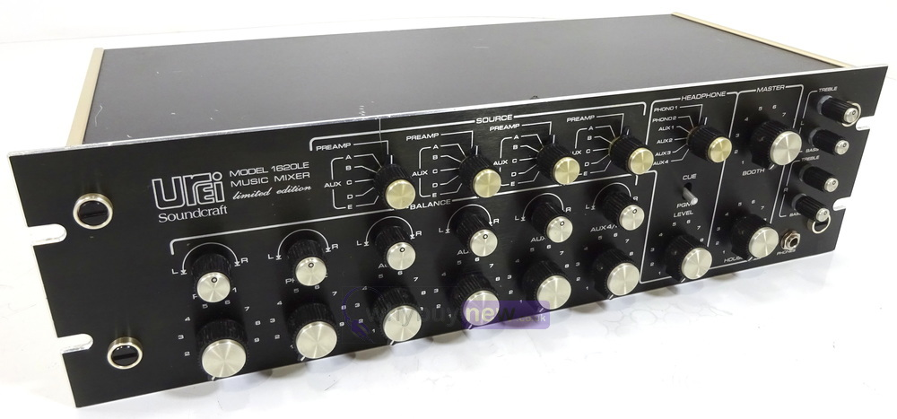 Urei by Soundcraft 1620LE Limited Edition Music Mixer