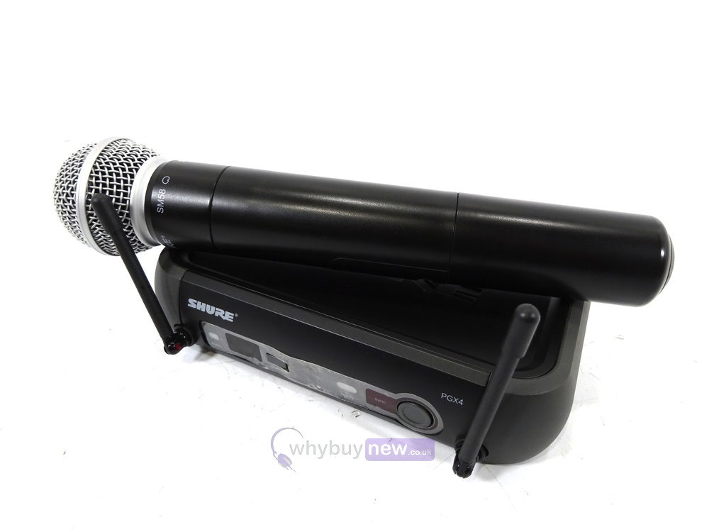 Shure Microphone System : Shure pgx wireless microphone system with sm mic