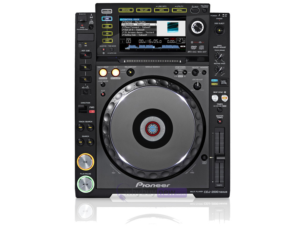 pioneer cdj 2000 nexus whybuynew. Black Bedroom Furniture Sets. Home Design Ideas