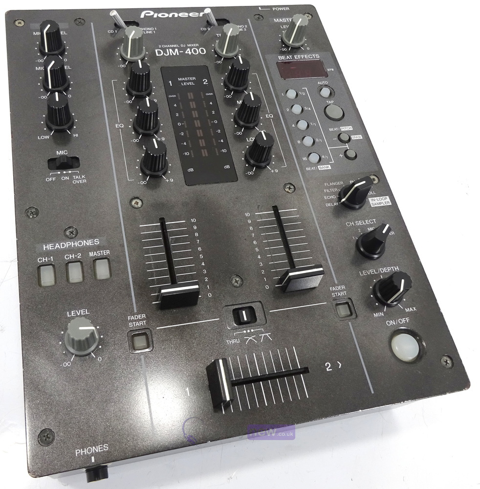 dj equipment dj mixers pioneer djm400 dj mixer whybuynew. Black Bedroom Furniture Sets. Home Design Ideas