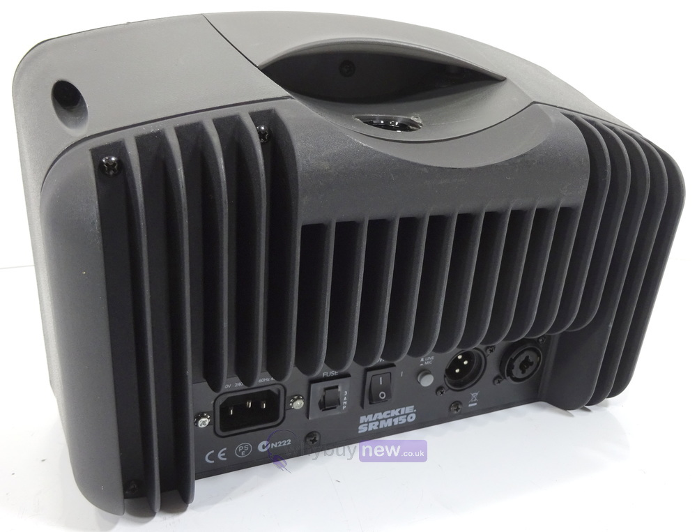 mackie srm150 compact active pa system whybuynew. Black Bedroom Furniture Sets. Home Design Ideas