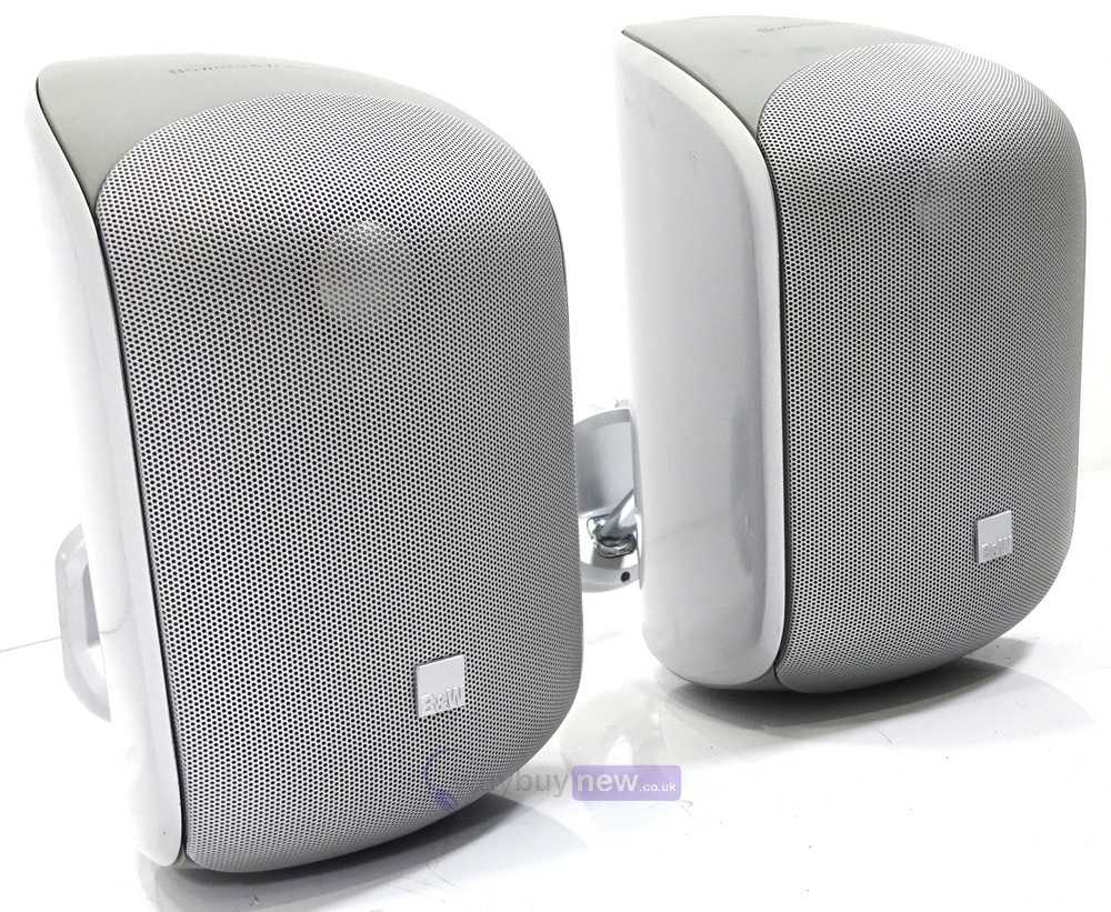 bowers wilkins silver m1 speakers pair whybuynew. Black Bedroom Furniture Sets. Home Design Ideas