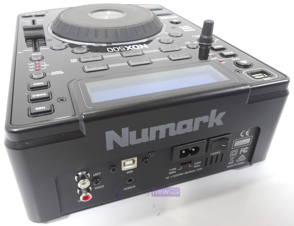 numark ndx500 usb cd media player whybuynew. Black Bedroom Furniture Sets. Home Design Ideas